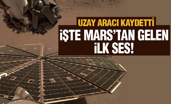 Mars'tan bir ilk daha: Perseverance'ın sesi yayınlandı